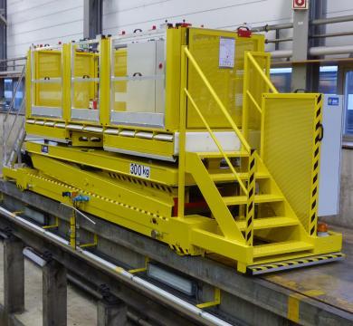 Plateformes élévatrices mobiles pour secteur ferroviaire