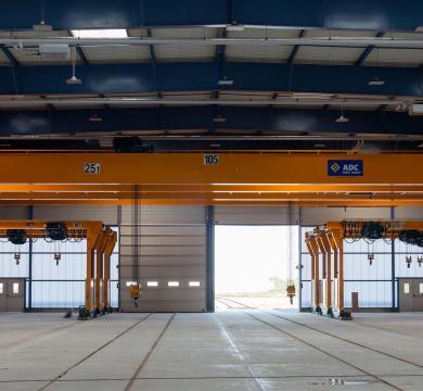 Ponts roulants et semi-portiques