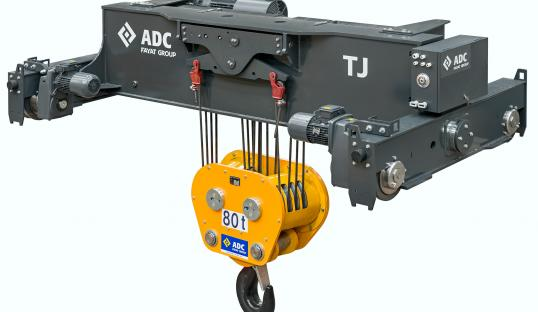 WIRE ROPE HOISTS UP TO 80t