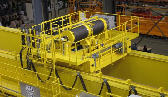 Treuil process EDF Bouchain